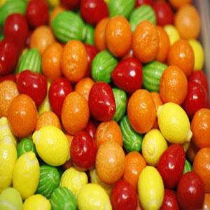 Små Tugummifrukter (2 st)