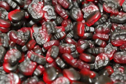 Mini Hallon-Lakritsskallar (2 st)