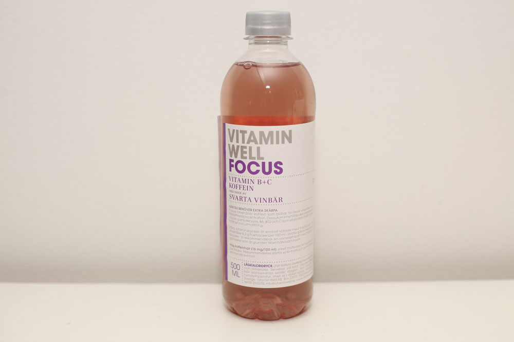 Vitamin Well Focus 50cl
