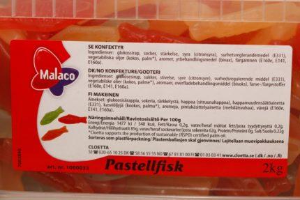 Pastellfiskar (2 st)