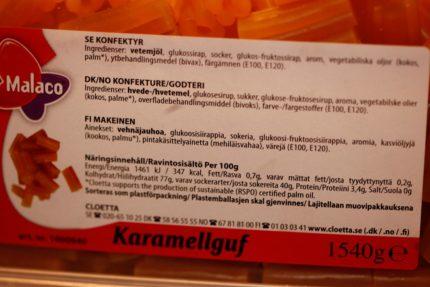 Karamellguf (2 st)