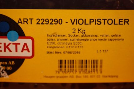 Violpistoler (2 st)