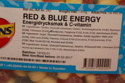Red & Blue Energys (2 st)