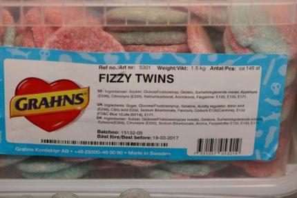 Fizzy Twins (2 st)