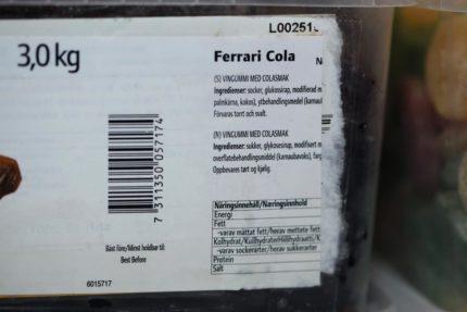 Cola Ferraris (2 st)