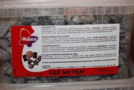 Gott & Blandat Salt (2 st)