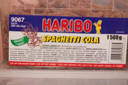 Cola Spaghetti (2 st)