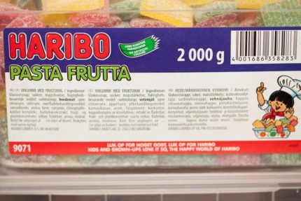 Pasta Frutta (2 st)