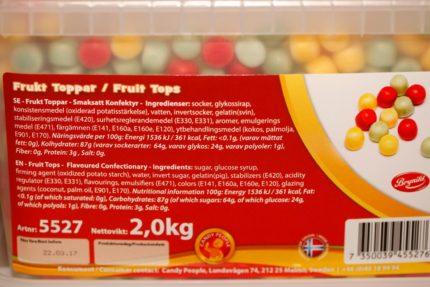 Frukt Toppar Orginal (10 st)