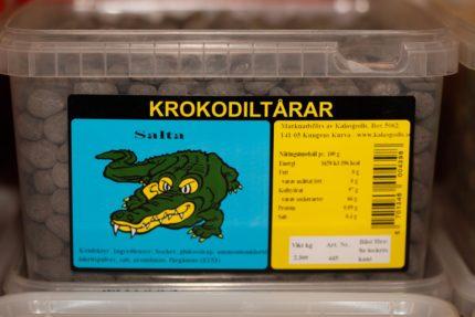 Krokodiltårar Salta (10 st)