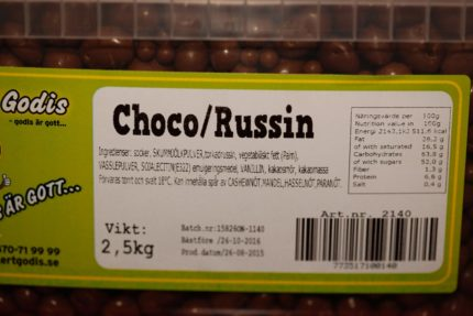 Choco Russin (2 st)