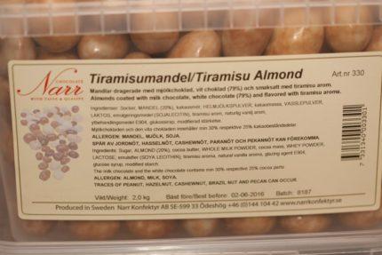 Narr's Tiramisu Mandel (2 st)