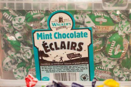 Éclairs Mintchoklad (2 st)