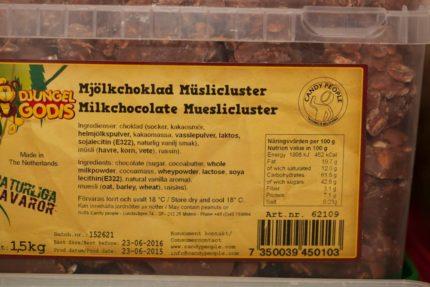 Mjölkchoklad Müslicluster (2 st)