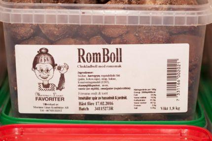 Mormor Lisas Rom Bollar (2 st)