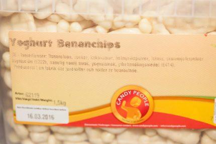 Yoghurt banan Chips (2 st)