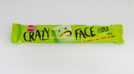 Crazy Face Mad Sour Chewy Apple