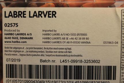 Labre Larver (5 st)