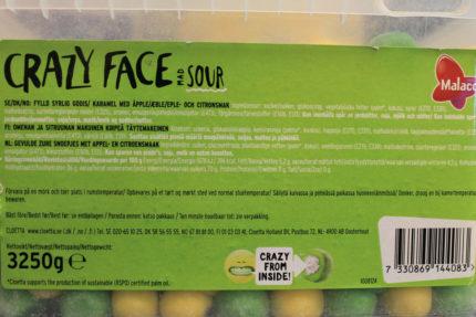 Crazy Face Mad Sour (5 st)