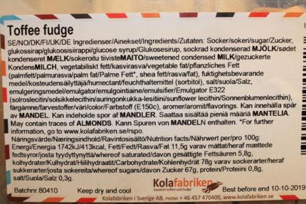Toffee Fudge (2 st)