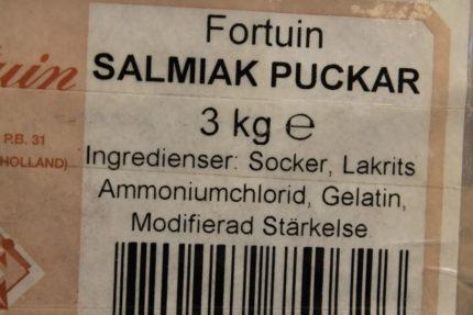 Salmiak puckar (5 st)