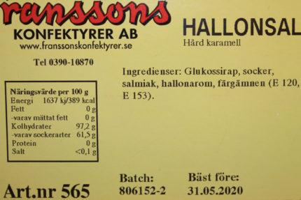 Hallon Salta (5 st)