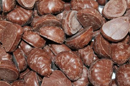 Chokladdoppade Gelé Apelsin/citronklyftor (3 st)