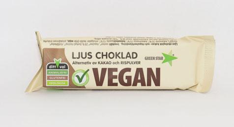 Ljus Choklad Vegan