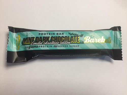 Barebells Protein Bar Mint Dark Chocolate