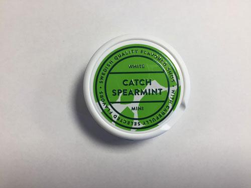 Catch Spearmint Mini White Portion